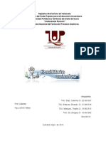 Trabajo de Termodinámica - Equilibrio Químico