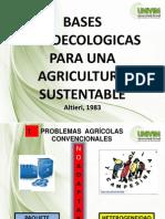 Bases Agroecologicas Para Una Agricultura Sustentable
