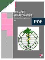 Compendio Hematología PATO UFRO