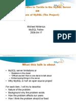 The future of MySQL (The Project)
