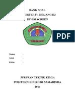 Cover Semester 4 D3