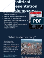 political representation and democracy