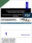 Proceso de Planeamiento Estratégico - Prospectiva