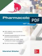 Pharmacology pretest