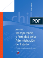 Manual de Transparencia y Probidad