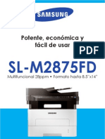 Brochure SL M2875FD