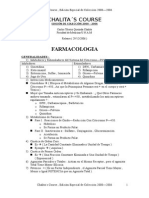 CHALITA´S COURSE - Sección de Farmacología ( Extended Version )