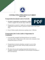 USDOT Local Hire Fact Sheet