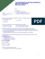Lista 1 Logica Mat 180208