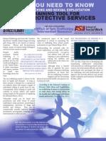 ASU STIR Child Welfare Brochure