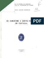 Do Humanismo à Contra-reforma Em Portugal