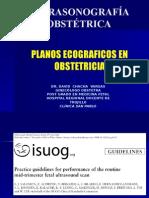 Planos Ecograficos en Obstetricia