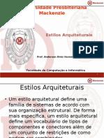 APD 3 - Aula 2 - 1 - Estilos Arquiteturais.pptx