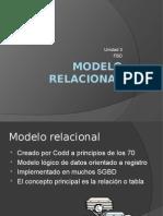 Unidad 3- Modelo Relacional (Fbd)