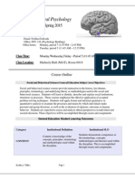 PSY 2012 - Syllabus - Sp15