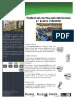 Proteccion Contra Sobretensiones en Planta Industrial