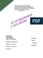 Informe de La Primera Exposicion. Computacion