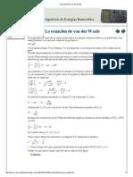 La ecuación de van der Waals.pdf