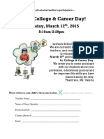 Career Day Solicitation-bilingual