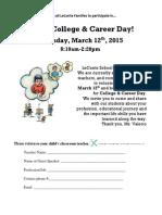 Career Day Solicitation-bilingual