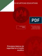 Principios Basicos de Seguridad en El Medio Acuático