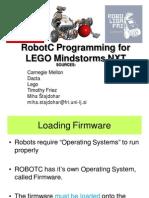 X002. Simple Programming in ROBOTC