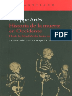 Aries Philippe - Historia de La Muerte en Occidente