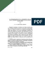 La Financiacion de La Conquista de Las Islas Canarias en El Tiempo de Los Reyes Catolicos