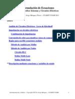 FormulacionEcuacionesSistemas&CircuitosElectricos