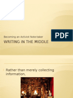 Writing in the Middle for Ctw2 Research Paper 2015