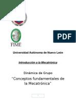 Introduccion a La Mecatronica Dinamica de Grupo