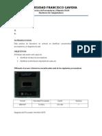 Práctica de Procesadores y Memoria RAM