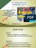 Presentacion Articulo Cientifico
