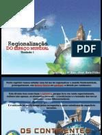 Regionalização dos continentes