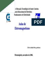 Aulas de Eletromagnetismo CEFET SC