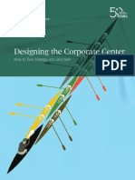 BCG - Designing the Corporate Center