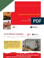 Exposición Obras Por Impuestos en El Agro