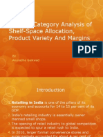 A Cross-Category Analysis of Shelf-Space Allocation, Product