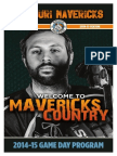 2014/2015 Mavericks Issue #5