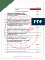 Checklist Seguridad en Restaurant Es