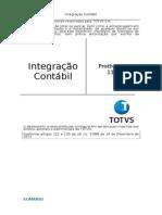 INTEGRAÇAO CONTABIL P11