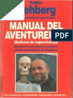 Manual Del Aventurero 2(Medicina de Supervivencia)Rudiger Nehberg