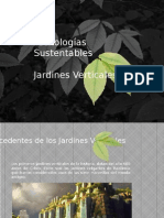Presentación Investigación Jardines Verticales