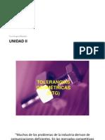 Unidad II SISTEMAS DE MANUFACTURA
