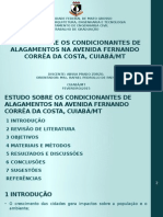 ZORZO, A. P. (2015) Estudo Sobre Os Condicionantes de Alagamentos Na Av. Fernando Corrêa Da Costa, Cuiabá-MT
