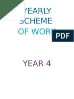 Yearly Scheme