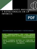 Deformidades Angulares y Rotacionales en La Niñez-dr Ivan Cardenas 2