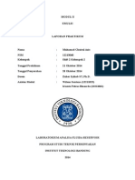 Laporan Praktikum Fluida Reservoir Modul 2