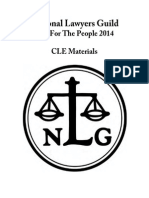 NLG 2014 Convention CLE Materials Vol III