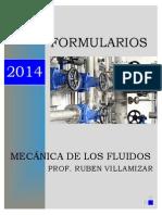 Formularios 2014 Mecanica de Los Fluidos